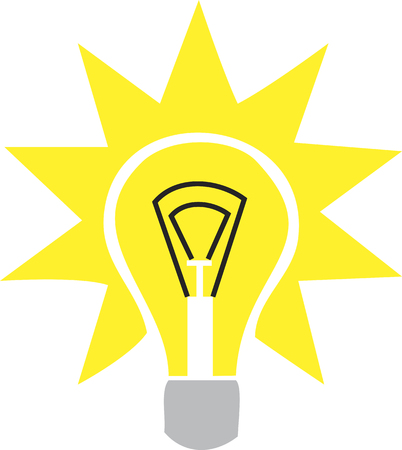 lamp light: light from the lamp Illustration