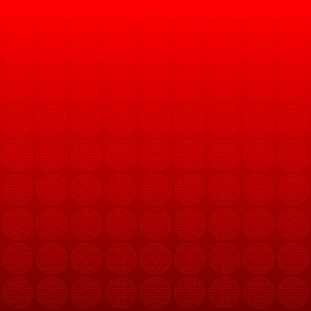 Chinese New Year. Red background of the Chinese symbol- Vector