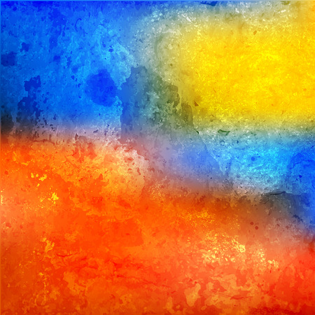 colorful watercolor stain with aquarelle paint blotch. abstract pattern. vector illustration