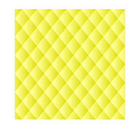 vector raster background: Vector halftone dots. Yellow squares on yellow background.