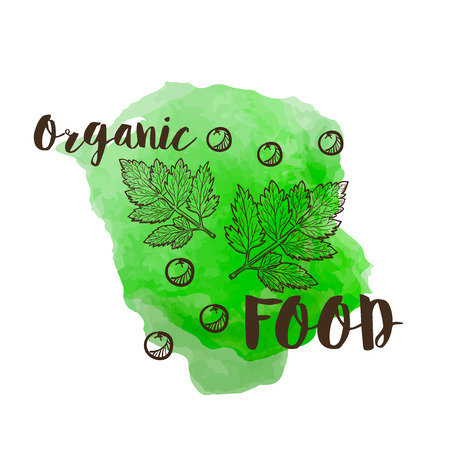 A good sign for presentation of any types of organic goods, especially food items. Appropritate for kitchen design.
