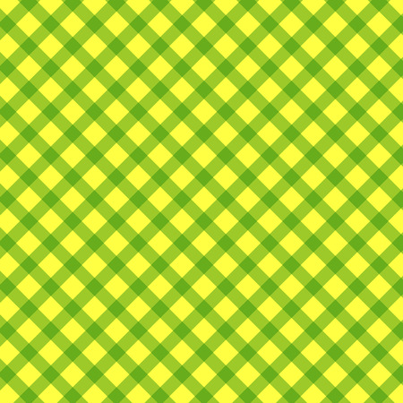 Green cloth texture background. Vector illustration for your fresh natural design. Bright txtural background in green and yellow colours.