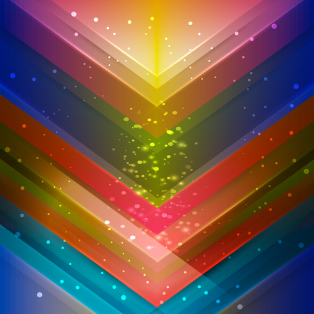 Multicolor polygonal illustration, which consist of lines. Geometric background in Origami style with gradient. Triangular design for your business. Rainbow, spectrum image.