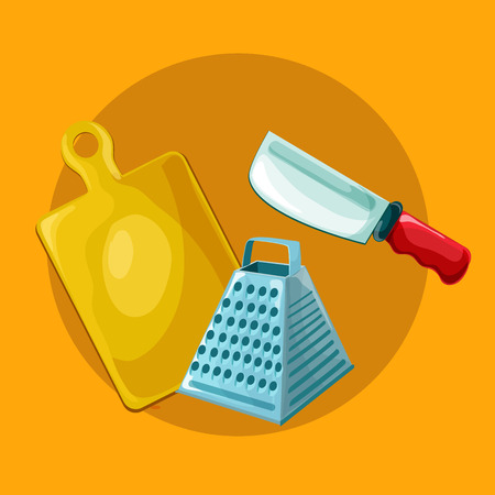 rolling pin: Vector kitchen tools set. Kitchenware collection. Lots of kitchen tools, utensils, cutlery. Modern flat design concepts for web banners, web sites, printed materials, infographics. Vector illustration Illustration