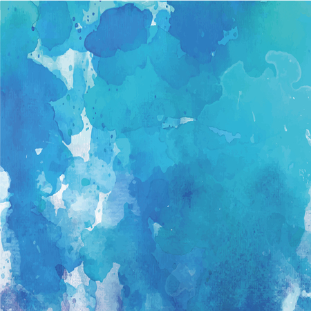 blue watercolor blot. A great solution for web background or wallpaper. Vector