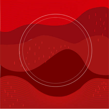 Eps10 red background. design poster or banner. Cute flat design