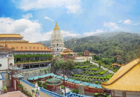 si: Buddhist temple Kek Lok Si  in Malaysia, Georgetown