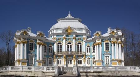 by catherine: Hermitage building in Tsarskoye Selo near St. Petersburg, Pushkin