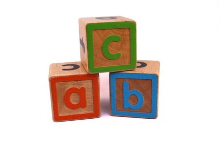 ABC blocks Stock Photo - 10281972