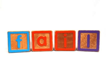 xyz: Fail in wooden blocks