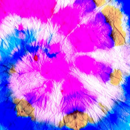 Sky Blue Psychedelic Dye Pattern. Violet Rough Tie Dye Print. Rose Vintage Rustic Pattern. Mustard Color Ink Illustration. Baby Blue Dirty Art Wallpaper. Worn Paper Texture.