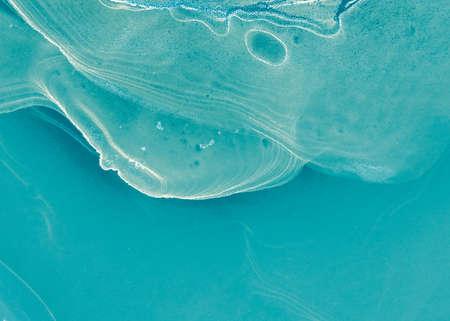Aqua Menthe Gemstone Backdrop. Turquoise Swirls Of Marble. Sea Waves Print. Turquoise Marble Ink Imitation. Gentle Breeze Gemstone Arwork. Storm Ocean Artwork.