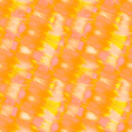 Mustard Repeated Amber Silk Batik Brush. Hard Grunge Texture. Summer Ornamental Orange Scattered Acrylic Blobs. Sunny Endless Carrot Watercolor Wallpaper. Stock fotó