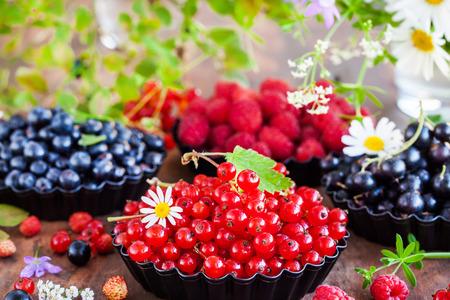 Fresh ripe summer berries