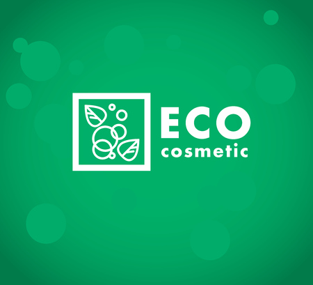 simple store: Vector simple flat cosmetic logo template. Minimalistic icon and logo design. Beauty industry company insignia, woman and kid care brand mark design, cosmetic store and shop logotype.