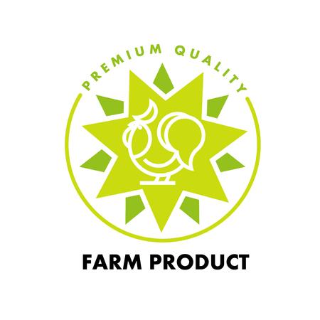 minimalistic: Vector flat simple minimalistic farm product.