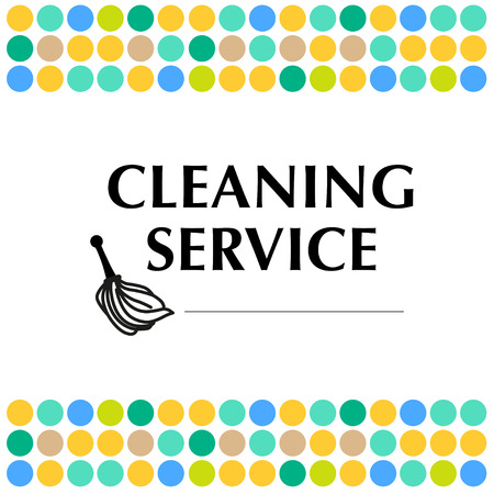 dry: Vector for cleaning company.