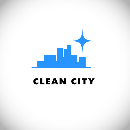 Vector for cleaning company.