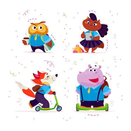 Happy cute little creatures.