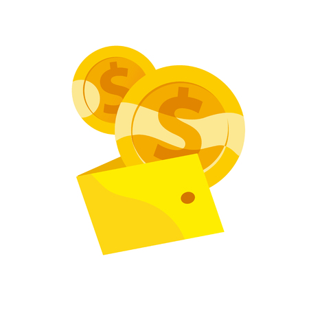 Golden coins icon.