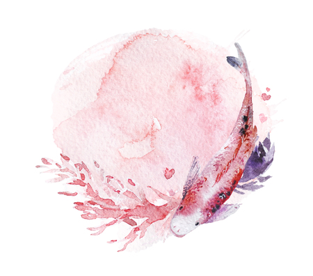 芸術的な手は絵のペンキの滴および背景と水彩画の組成物を描いた。バレンタインデー、結婚式のお祝いや装飾のために良い - カード、ポスター、プリント、バナー、招待状など 写真素材 - 93307058