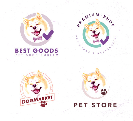 A Vector collection of pet shop