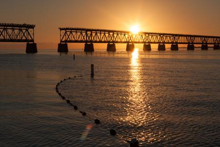 Sunset in Bahia Honda Key