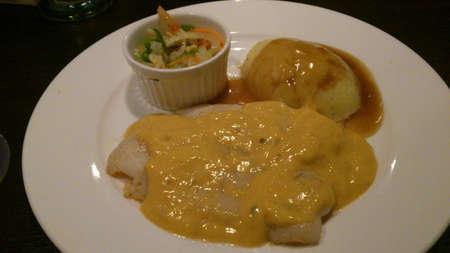 filete de pescado: Filete de pescado Cheessy