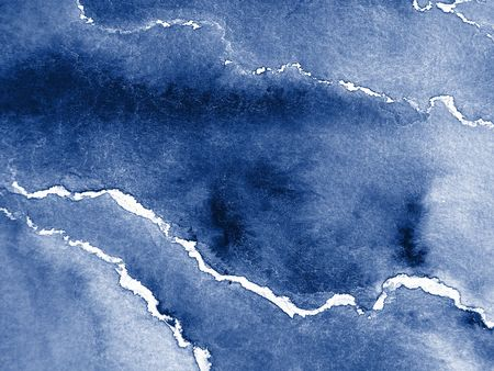 Blue Watercolor Abstract 3