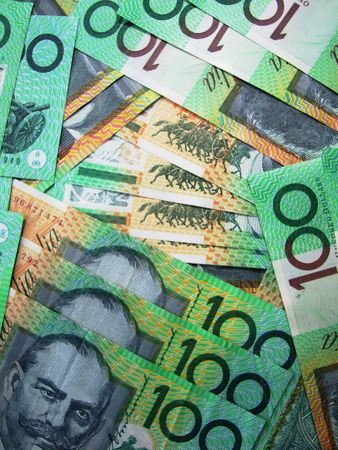 on the dole: 100 dollar Notes