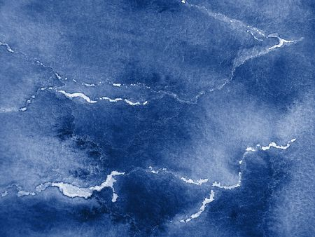 Abstract Blue Watercolor Background Stock Photo - 4294444