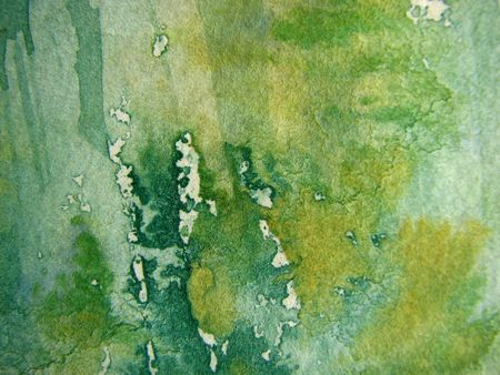 ochre: Blue and Ochre Watercolor Background