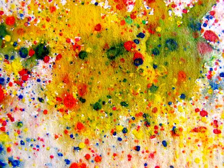 Abstract Watercolor Splash photo