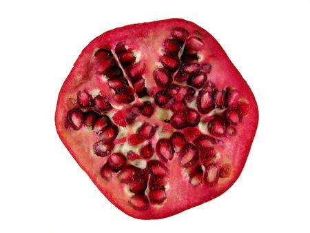Pomegranate Half