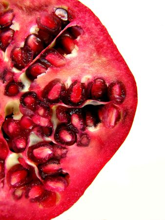 Pomegranate Macro photo