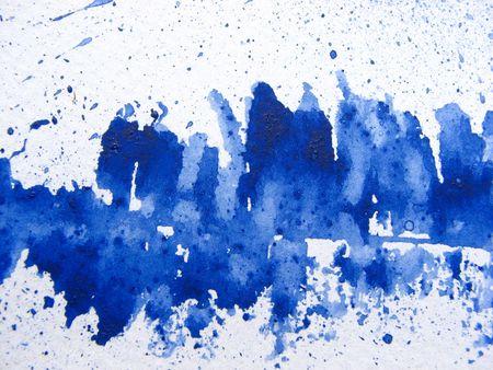 Aegean Blue Watercolor Background 1