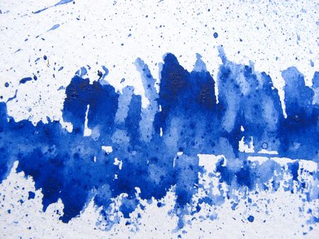 Aegean Blue Watercolor Background 1 photo