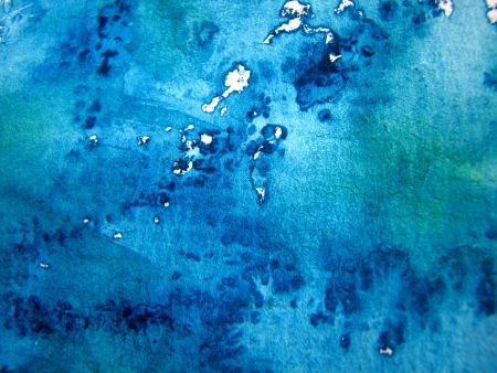 textural: Blue Watercolour Background 2