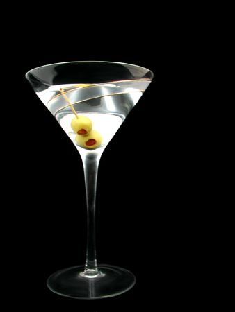 martini: Martini on Black