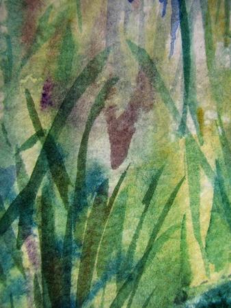 Abstract Watercolor 9 photo