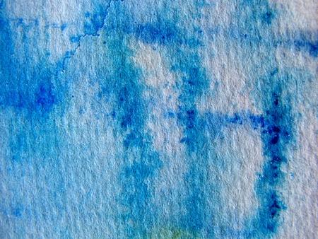 Aqua Blue Watercolor Textures photo