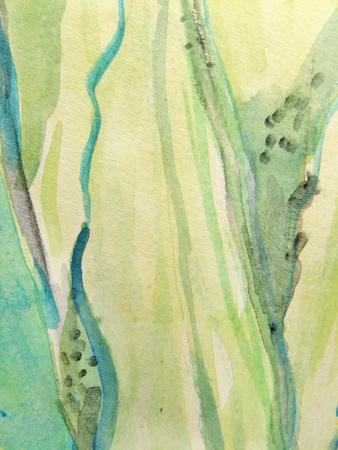 green tone: Green Vertical Watercolors 1