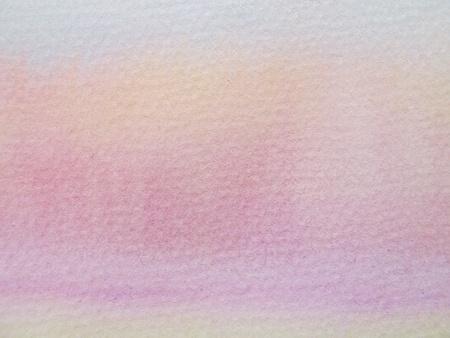 Pink & Orange Pastel Watercolor Background  photo