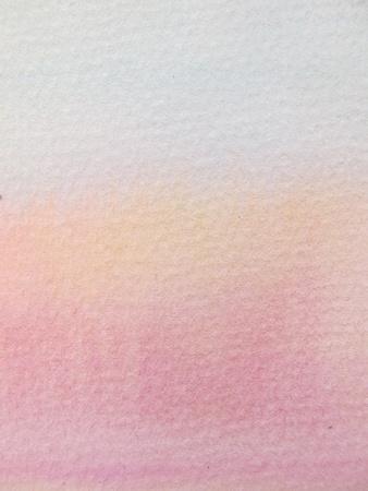 Pink & Orange Pastel Watercolor Background 2