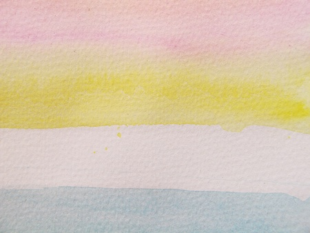 Pink Blue & Yellow Pastel Watercolor Background 4 photo