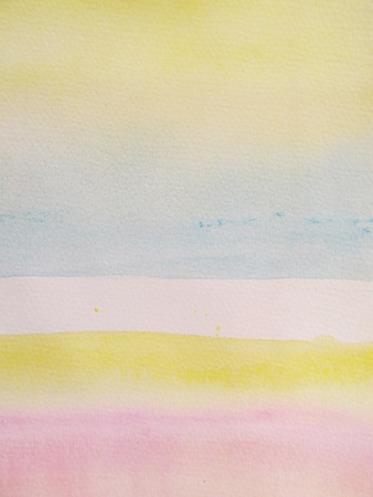 Pink Blue & Yellow Pastel Watercolor Background 5 photo