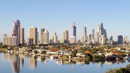 gold coast australia: Gold Coast Australia Stock Photo