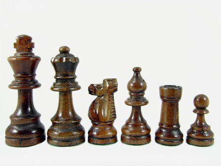 Macro Chess Pieces  photo