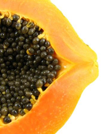 Red papaya  Stock Photo