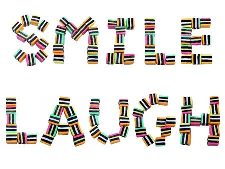 Smile & Laugh Words
